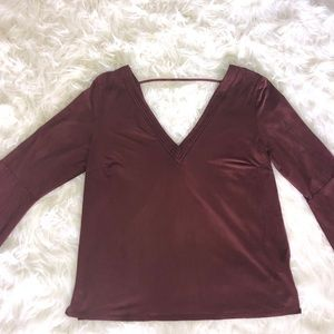 Tops - Maroon Blouse